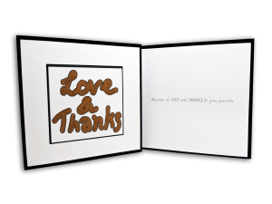 Love & Thanks Card