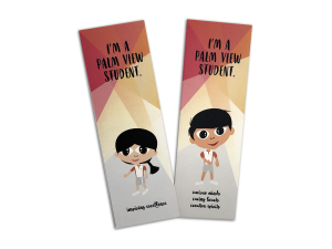 PALM VIEW Bookmark