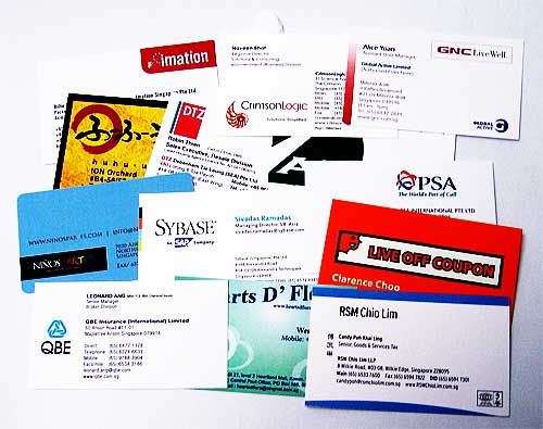 Creative Business Name Card Attracts Valued Clients   Print City Singapore