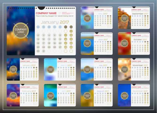 using calendars can be very useful in reminding customers of your brand